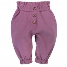 Pinokio - Otroške hlače My garden Roza  (št.62)