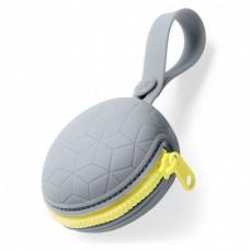 Skip Hop - Silikonska torbica za dude, siva