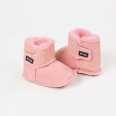 Snugi - Merino škorenjčki Pink (0-6 mesecev)