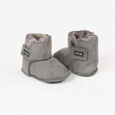 Snugi - Merino škorenjčki Grey (0-6 mesecev)