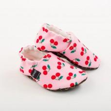 Snugi - Otroški copati Cherries (9-12 mesecev)