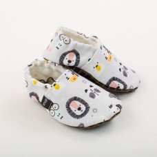 Snugi - Otroški copati Hakuna matata Grey (6-9 mesecev)