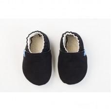Snugi - Otroški copatki Just black (12-18 mesecev)