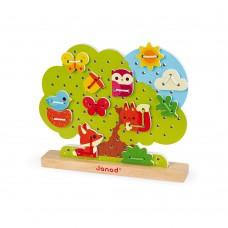 Janod - Pretikanka Drevo