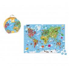 Janod - Sestavljanka Zemljevid sveta