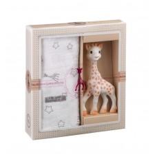 Vulli - Darilni set Žirafa Sophie in muslin