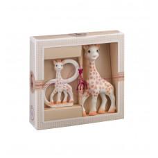 Vulli - Darilni set Žirafa Sophie in obroček