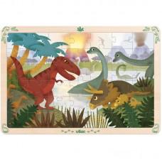 Vilac - Lesena sestavljanka Dinozavri